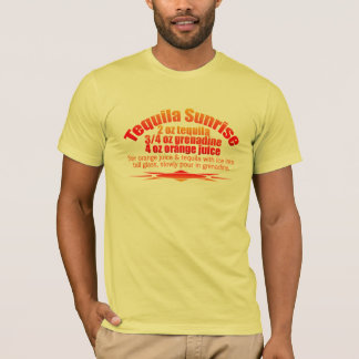 Camisa de la salida del sol del Tequila - elija el