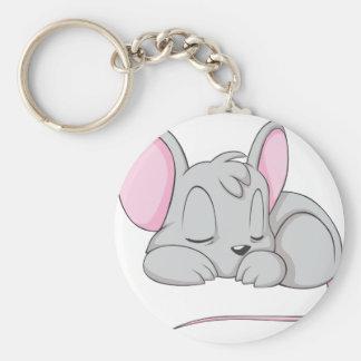Camisa de la siesta de la rata del ratón del bebé  llavero personalizado