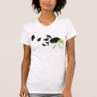 camisa de la silueta de la panda