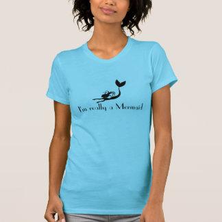 Camisa de la sirena -- Soy realmente una sirena