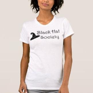 Camisa de la sociedad 2 del gorra negro