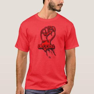 camisa de la sombra del puño de las sangres