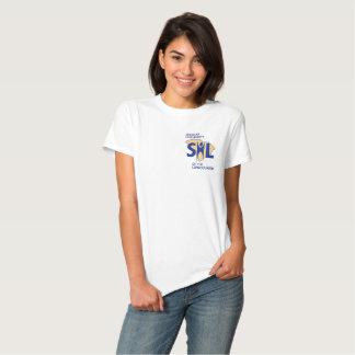 Camisa de la sonrisa del SHL de las mujeres