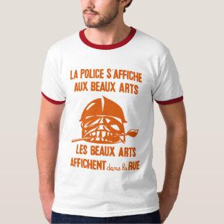 camisa de la sublevación de París de la policía