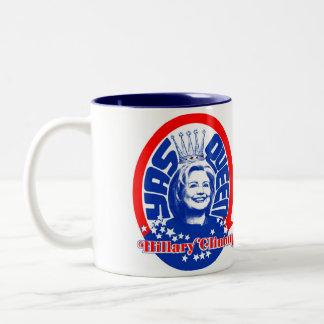 Camisa de la taza de la reina de Hillary Clinton