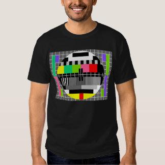 """Camisa de la """"televisión retra"""" para el hombre"""