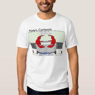 Camisa de la tina caliente de la langosta de los