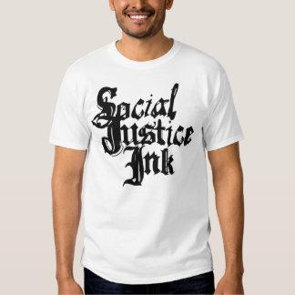 Camisa de la tinta de la justicia social