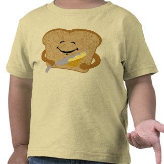 Camisa de la tostada y de la mantequilla