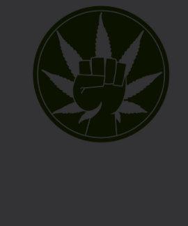 Camisa de la unión de la mala hierba