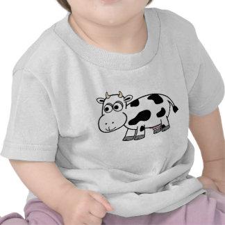 ¡Camisa de la vaca lechera del dibujo animado!