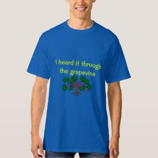 Camisa de la vid