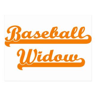 camisa de la viuda del béisbol postal