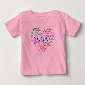 Camisa de la yoga del corazón - ropa de la yoga