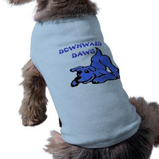 Camisa de la yoga para los perros playera sin mangas para perro