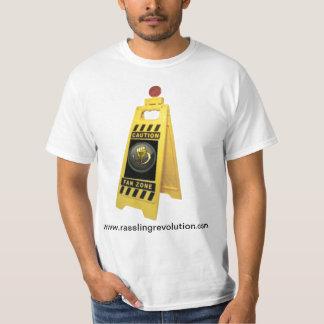 Camisa de la zona de la fan de la revolución