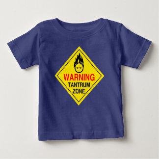 Camisa de la zona de la rabieta