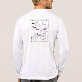 Camisa de largo envuelta de la tecnología de R2R2R