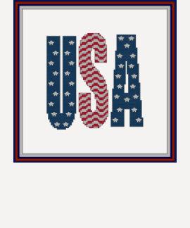 Camisa de las barras y estrellas de los E.E.U.U.