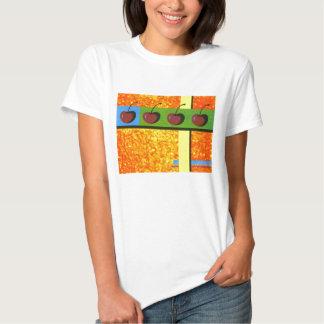 Camisa de las cerezas salvajes
