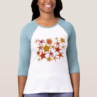 Camisa de las estrellas de mar