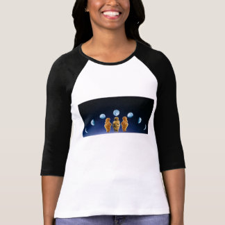 Camisa de las fases de Venus y de la luna