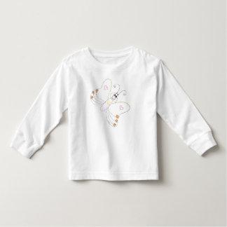Camisa de las flores de los corazones de la
