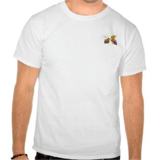 Camisa de las hojas de la bellota y del roble