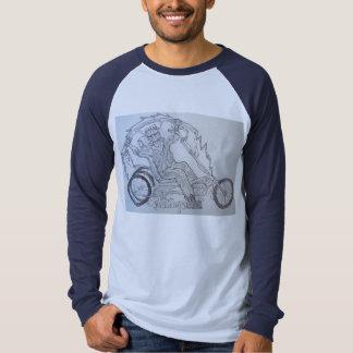 Camisa de las ilustraciones de Frankenbent