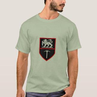 Camisa de las insignias del ejército de Rhodesian