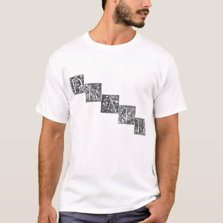Camisa de las letras de la muerte