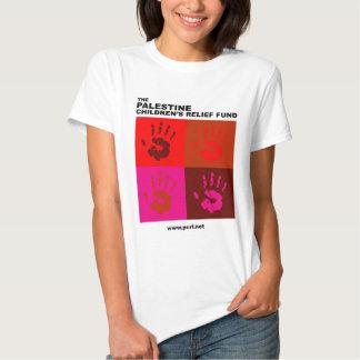 Camisa de las manos II de las mujeres cuatro