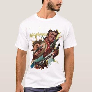 Camisa de las pistolas del duelo