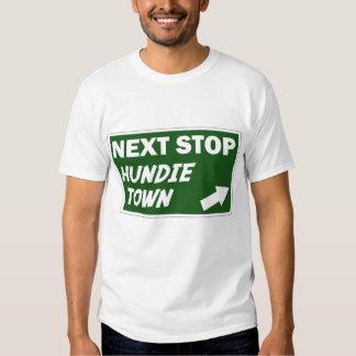 Camisa de las señoras de la ciudad de Hundie