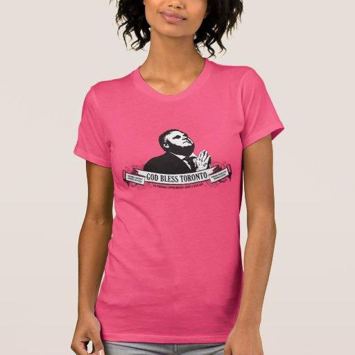 Camisa de las señoras/de las mujeres de Rob Ford