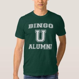 Camisa de las señoras de los alumnos del bingo U