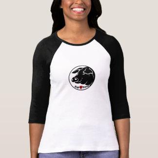 Camisa de las señoras de los cerdos y de los besos
