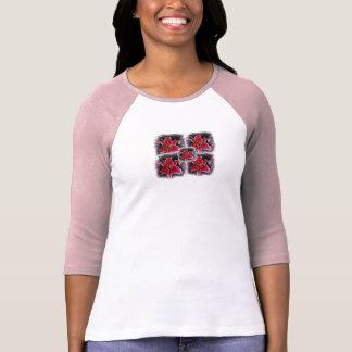camisa de las señoras de los lirios del stargazer