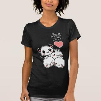 Camisa de las señoras de Luv de la bola de masa he