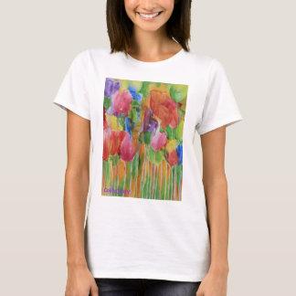 Camisa de las señoras de Palooza del tulipán