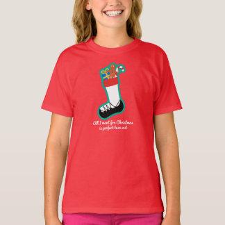 Camisa de las señoras del navidad de la danza del
