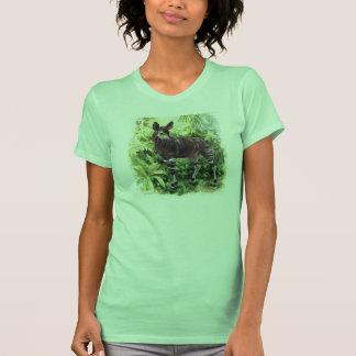 Camisa de las señoras del Okapi de la selva