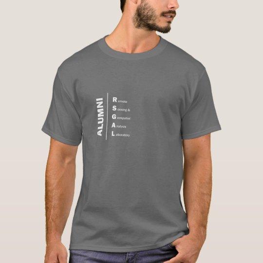 Camisa de los alumnos del individuo de RSGAL