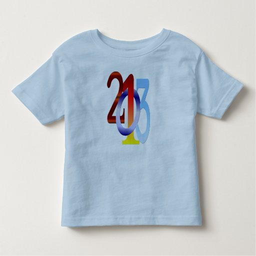 camisa de los Años Nuevos 2013-Happy