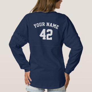 Camisa de los azules marinos del jersey de los