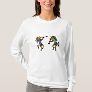 Camisa de los caballos del baile de los CF