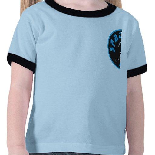 Camisa de los cadetes del espacio