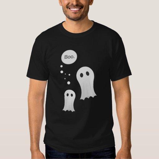Camisa de los fantasmas del abucheo