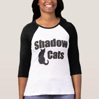 Camisa de los gatos de la sombra