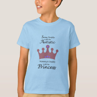 Camisa de los gils de la princesa del autismo